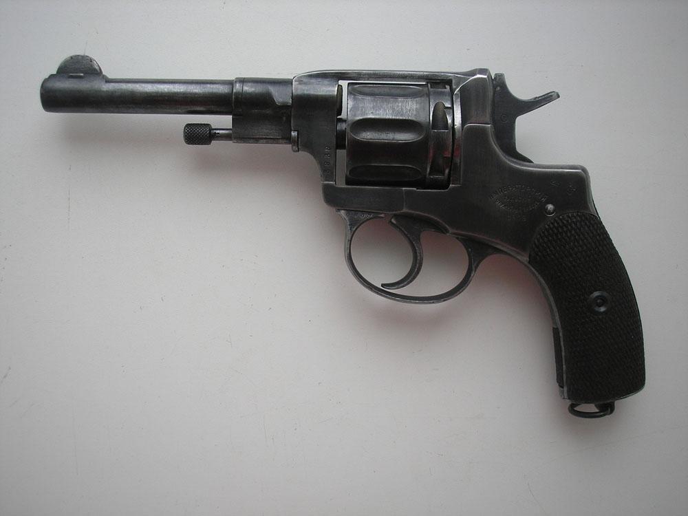 Всего в конструкции револьвера